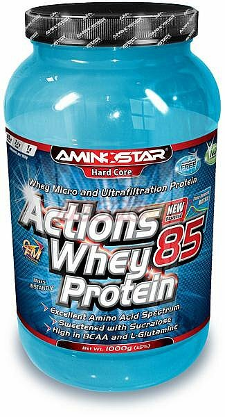 Aminostar WHEY PROTEIN ACTIONS 85 1000 g