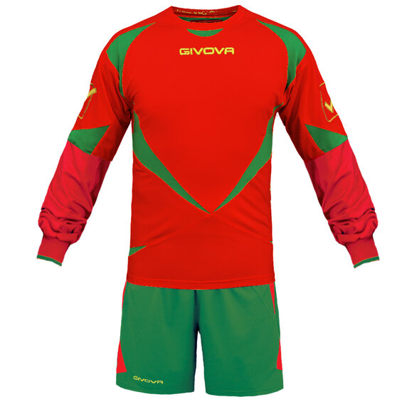 FUTBALOVÝ DRES DISTRICT red/green