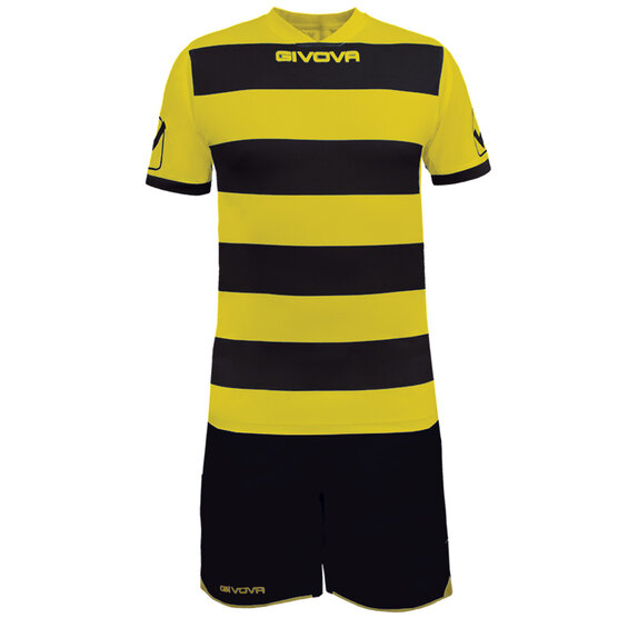 FUTBALOVÝ DRES RUGBY yellow/black