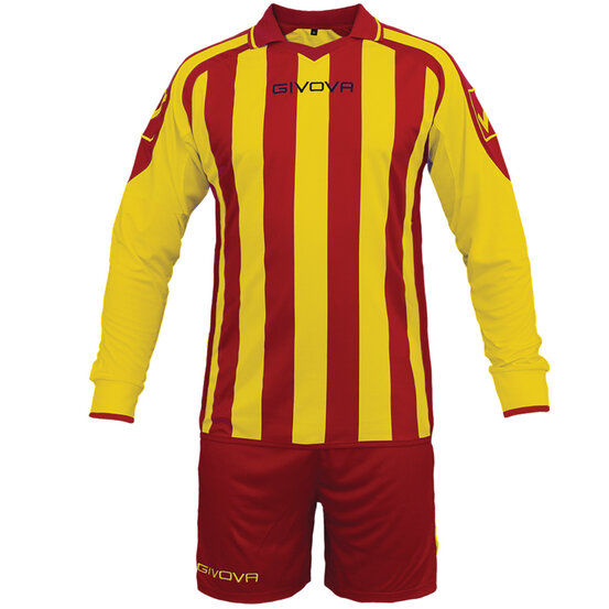 FUTBALOVÝ DRES RUMOR red/yellow