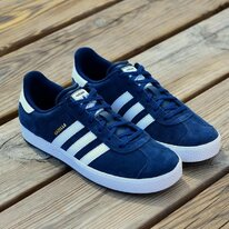 Juniorská obuv Adidas GAZELLE 2 J dark blue