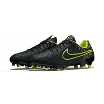 Kopačky Nike TIEMPO GENIO LEATHER FG black/green