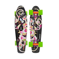 Penny board Tempish SILIC black
