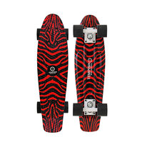 Penny board Tempish SILIC red