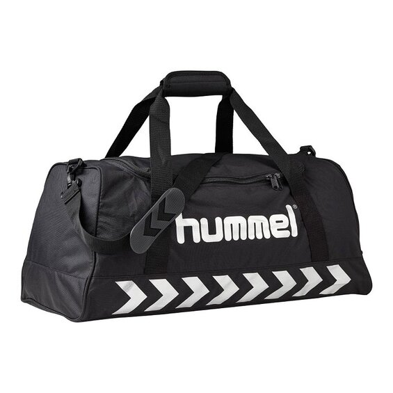 Športová taška Hummel STAY AUTHENTIC SPORT BAG M black