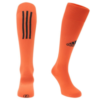 Štulpne Adidas SANTOS 3-STRIPE orange